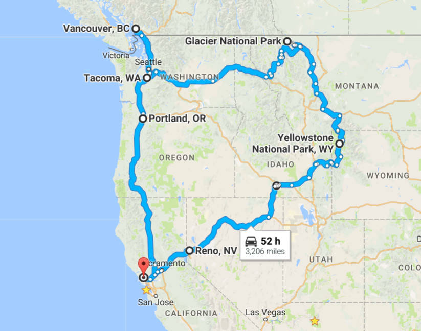 Joy Lanzendorfer » Yellowstone National Park Part 1 on yosemite rv parks map, cody wyoming rv parks map, black hills rv parks map,